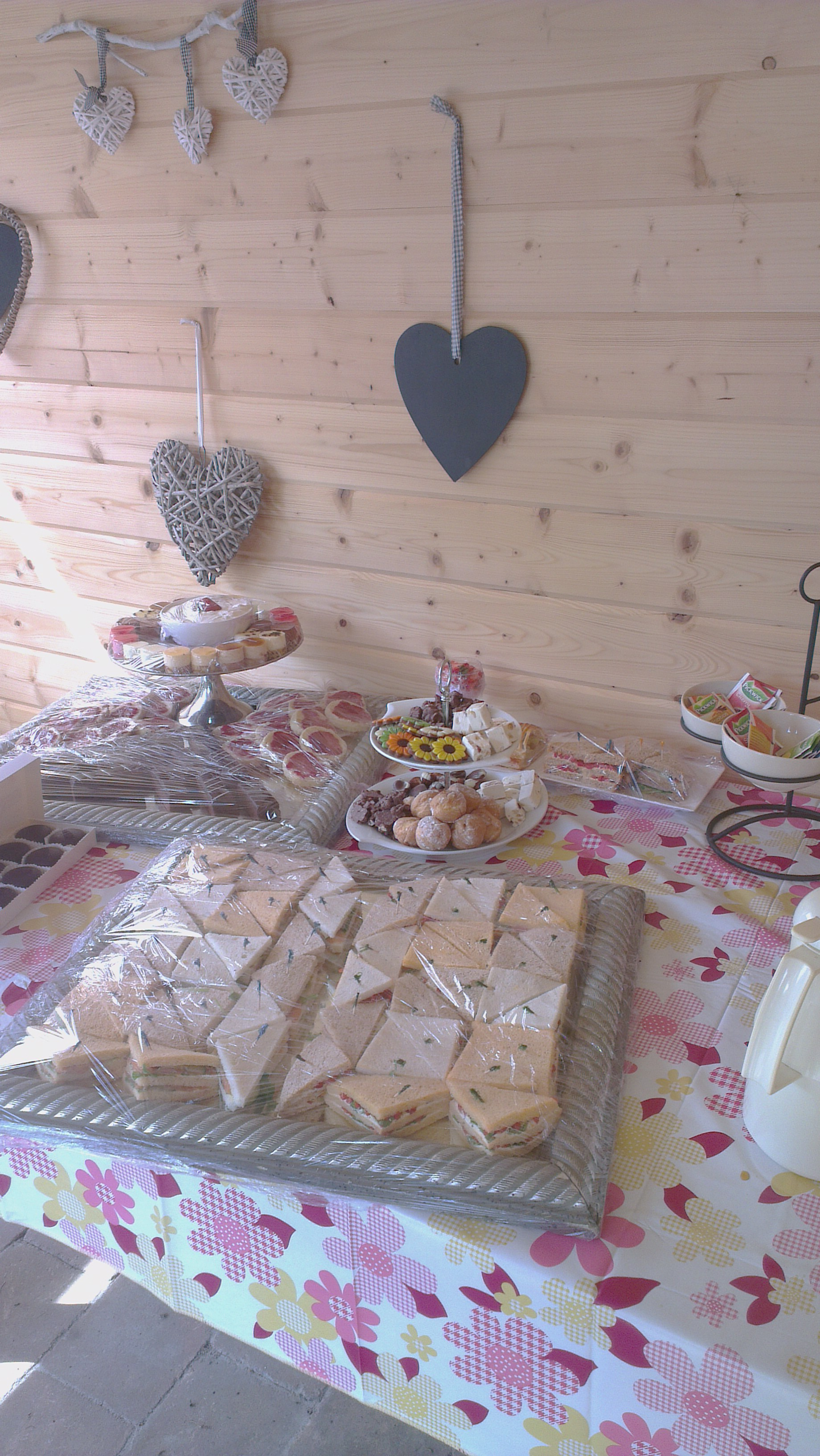 High tea catering bestellen Uffelte