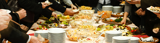 Buffet BBQ Hapjes Tapas Lunch High tea en Salade catering Maasdam en Cillaarshoek
